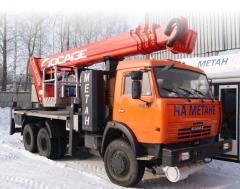 Автогидроподъемник 2784SF на шасси KAMAZ-65115-30 (6х4)