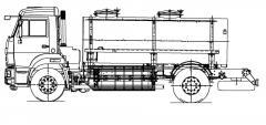 Автоцистерна АЦПТ-7,5-43253PG