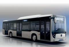 Рестайлинговый низкопольный автобус НЕФАЗ...
