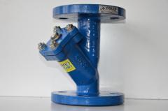 Фильтры фланцевые (вода, газ, пар, нефтепродукты)