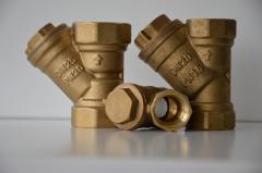Фильтры водяные муфтовые (бронза)