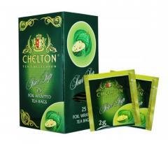 Зеленый чай с соусепом Chelton Premium 25п