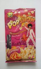 Popcorn for preparation in the microwave oven