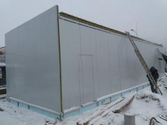 The building of the sandwich panels art. 9