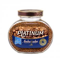 Кофе растворимый без кофеина Ambassador Platinum,