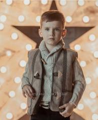 Детская жилетка для мальчика, Детская одежда в
