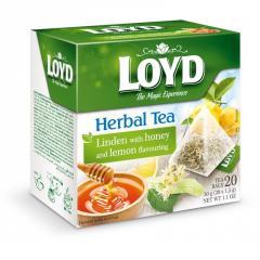 Чай Loyd Липовый с медом и лимоном