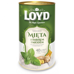 Чай Loyd  мята имбирь мед