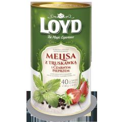 Чай Loyd Tea лимон бальзам, клубника, перец