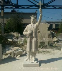 Sculptura lui Ștefan cel Mare