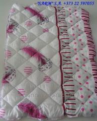 Детское стеганое силиконовое одеяло 105х145...