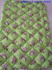 Детское стеганое силиконовое одеяло 105х145 хлопок