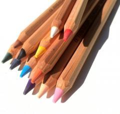Карандаши Creioane set 12 culori flexibile