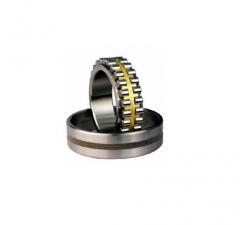 Подшипники роликовые радиальные двухрядные с коническим отверстием внутреннего кольца с бортами на внутреннем кольце