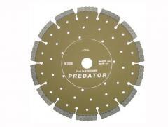 Круги алмазные отрезные сегментные для интенсивной резки строительных материалов, арм. бетона, гранита (светло-коричневый, PRT, PRE)