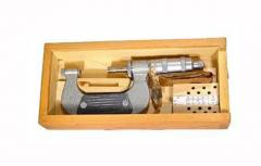 Микрометры с плоскими вставками для измерения мягких материалов ГОСТ 4380-93