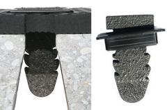 Коврик из каучука  противоскользящий Lospa Sb