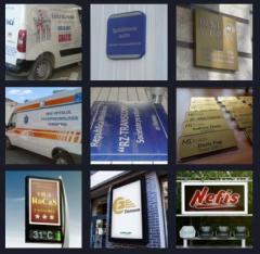 Вывески рекламные