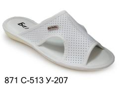 Men's slippers with 871-513 u-207