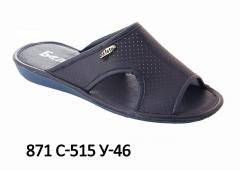 Men's slippers with 871-515 u-46