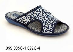 Women's slippers with 059 005-1 092 p-4