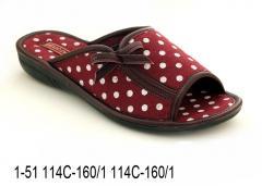 Женские тапочки 1-51 114С-160,1 114С-160,1