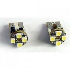 Лампочка Vecta светодиодная с цоколем T10 белая