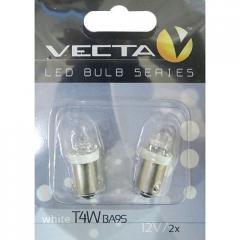 Лампочка Vecta светодиодная с цоколем T4W 12В