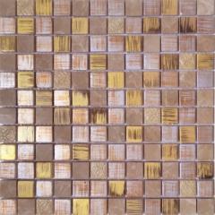 Мозаика Wellness Pombal Gold 30x30см