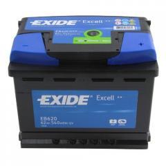 Аккумулятор Exide Excell EB620 62Ач 540А