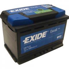 Аккумулятор Exide Excell EB740 74Aч 680А