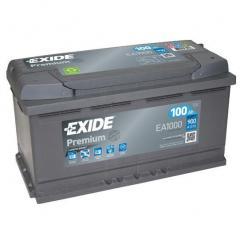 Аккумулятор Exide Premium EA1000 100Aч 900А