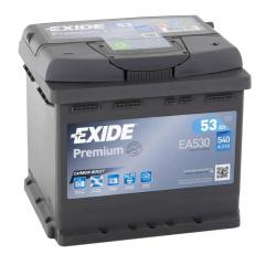 Аккумулятор Exide Premium EA530 53Ач 540А