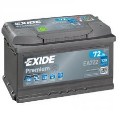 Аккумулятор Exide Premium EA722 72Ач 720А
