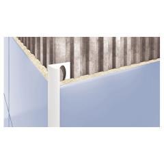 Внешний профиль для плитки светло-серый 2500х12мм