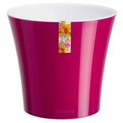 Горшок для цветов Arte Пурпурный-Белый 2л