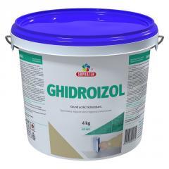 Грунтовка гидроизоляционная Ghidroizol 4кг