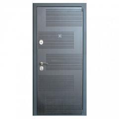 Дверь металлическая DT18 Wenge/White правая...