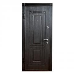 Дверь металлическая DT3-2 Wenge/White левая 205х96x7см
