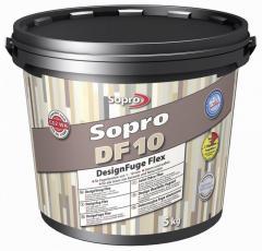 Затирка Sopro DF 10 Светло-серая №16 5кг