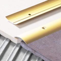 Защитная овальная рейка LPO 30 серебряный 1000х30мм