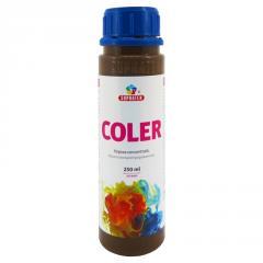 Концентрированная краска Coler №117 Кофе с молоком 250мл