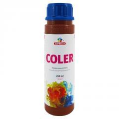Концентрированная краска Coler №124 Коричневый 250мл