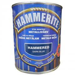 Краска Hammered Темно-синий 0.75л
