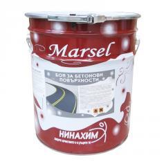 Краска Marsel для асфальта и бетона Белая...