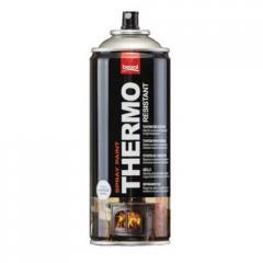 Краска-спрей для высоких температур Черная 400мл