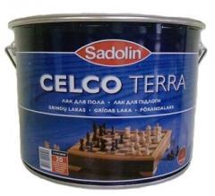 Лак Celco Terra 20 Полуматовый 10л