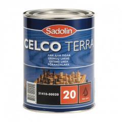 Лак Celco Terra 20 Полуматовый 1л