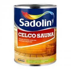Лак для бани Celco Sauna 1л