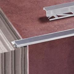 Лестничный профиль ZET cеребряный 2000х10мм